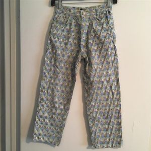 Vintage Young VERSACE Graphic Prints Pants